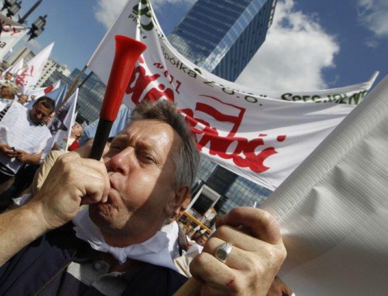 Lenkija: protestai Varšuvoje