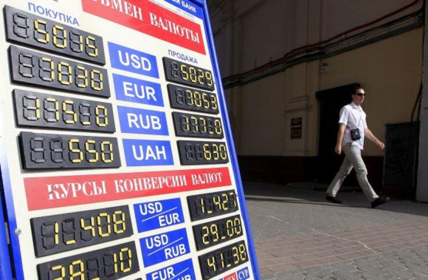 Baltarusijos rublio krizė privertė nuolaidžiauti JAV doleriui