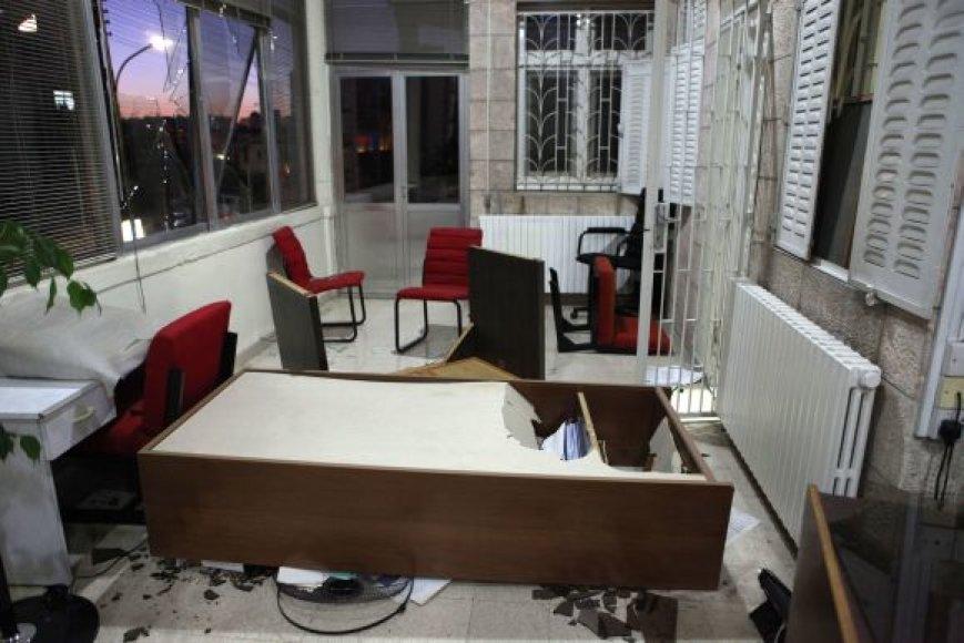 Nusiaubta AFP būstinė Jordanijoje