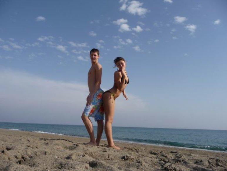 Bikini porelė. Daumantas ir Monika