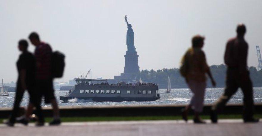 Niujorkas prieš uraganą
