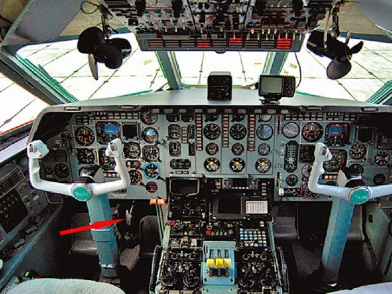 Rankinis Jak-42 stabdis