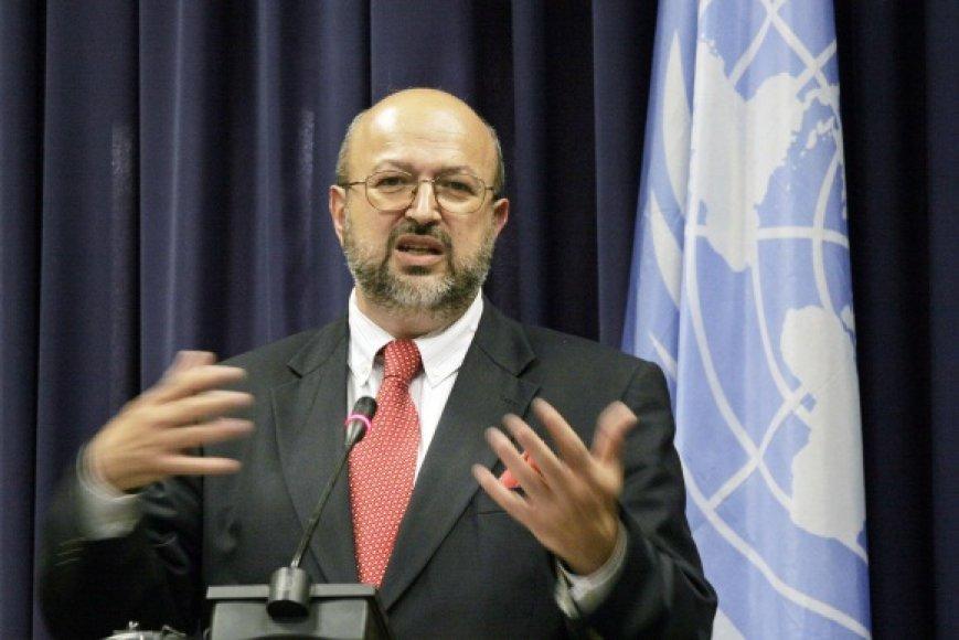 Europos saugumo ir bendradarbiavimo organizacijos (ESBO) generalinis sekretorius Lamberto Zannieris