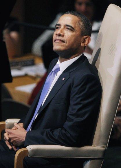 Barackas Obama pasakė kalbą Jungtinėse tautose