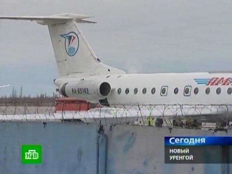 Gesinamas lėktuvas Tu-134
