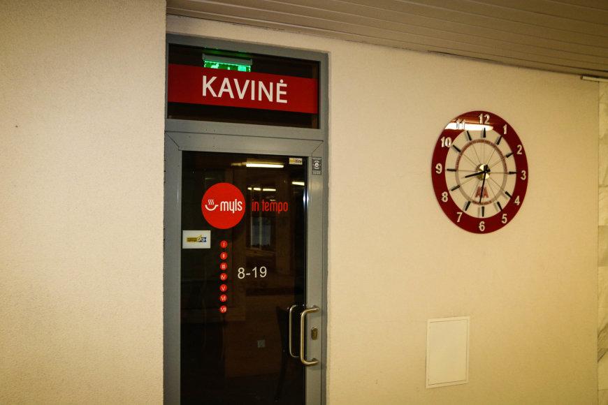 Pauliaus Ramanausko/15min.lt nuotr./Kavinė Santariškių klinikose