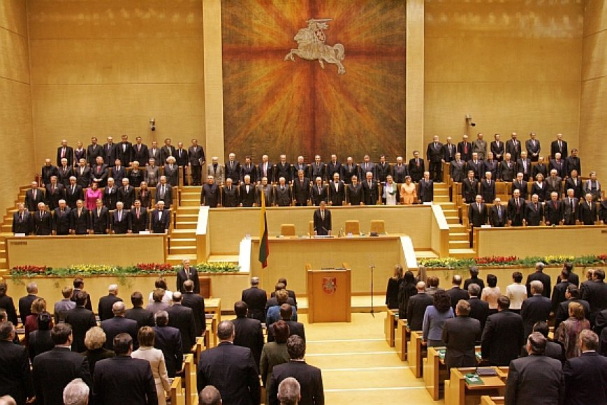 Istorinės kovo 11-osios salės Seime remontui skirta 3,5 mln. litų.