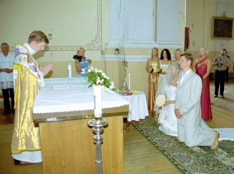Enriko Daktaro ir Indrės Kristinavičiūtės tuoktuvių ceremonija