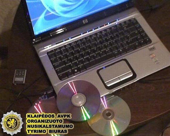 Patikrinę klaipėdiečio kompiuterį pareigūnai aptiko pornografinės medžiagos.