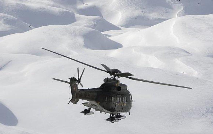 """Sraigtasparnis """"Super Puma"""""""