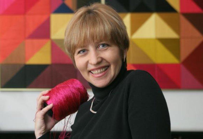 Tekstilininkė Danguolė Brogienė