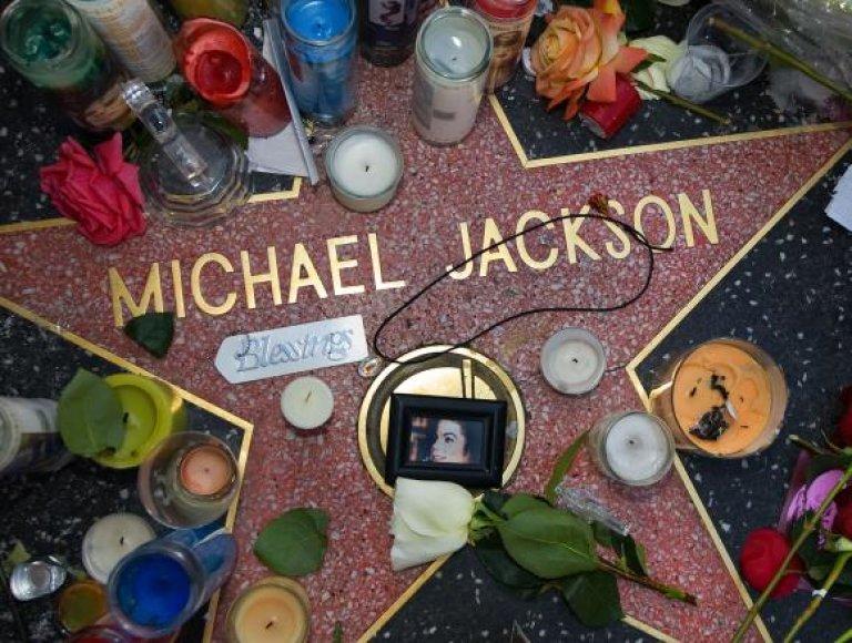 Michaelo Jacksono žvaigždė