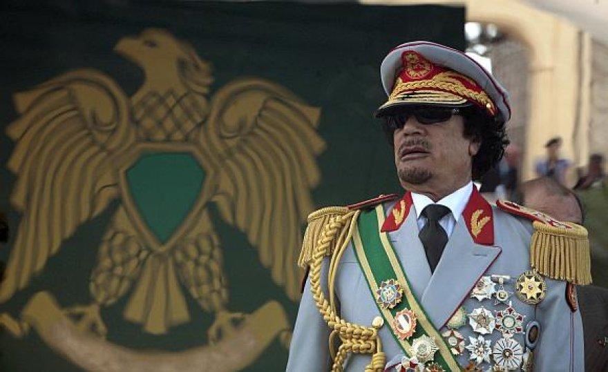 Muamaras Kadhafis valdžioje jau keturis dešimtmečius