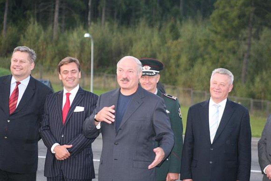 Aleksandras Lukašenka Lietuvoje