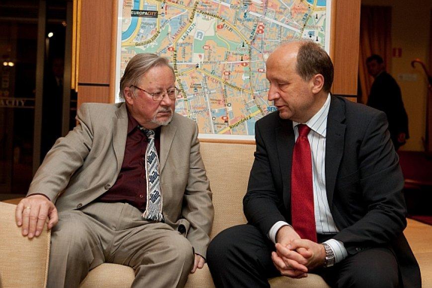 Vytautas Landsbergis ir Andrius Kubilius
