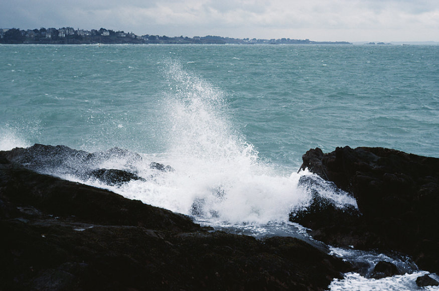 Atlanto vandenyno pakrantė Bretanėje