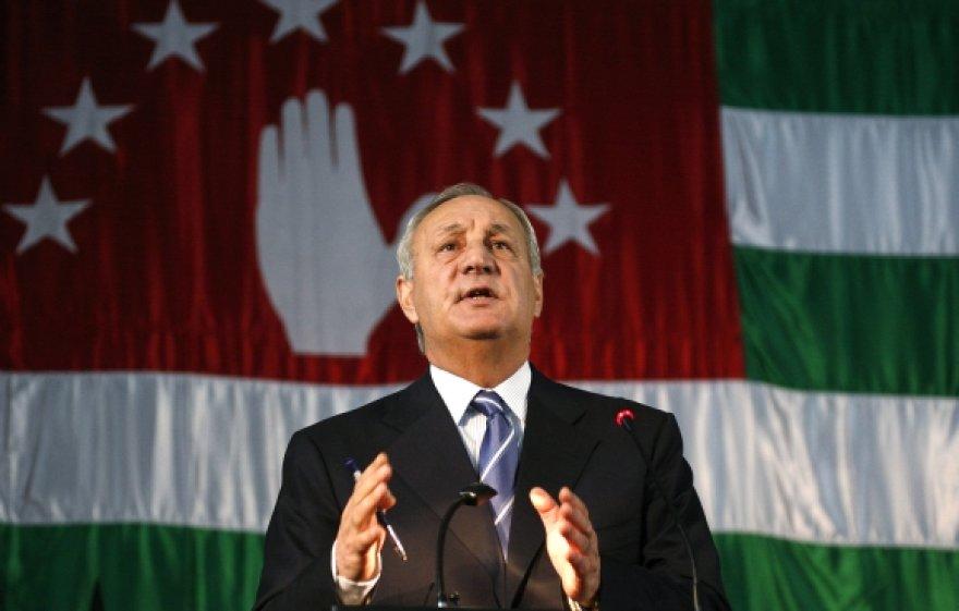 Abchazijos prezidentas Sergejus Bagapšas