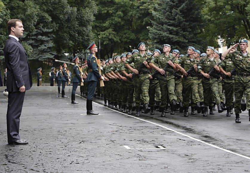 Rusijos prezidentas dabar galės pats nuspręsti, kur ir kada pasiųsti kariuomenę.