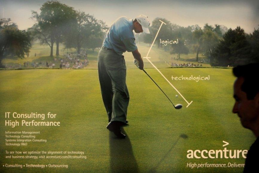 Tigeris Woodsas kasmet iš reklamos sutarčių užsidirbdavo apie 100 mln. dolerių.