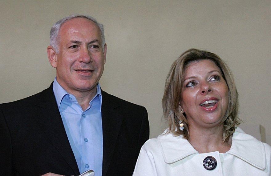 Benjaminas ir Sara Netanyahu