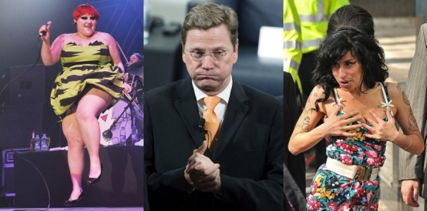 Ben Ditto, Guido Westerwelle ir Amy Winehouse