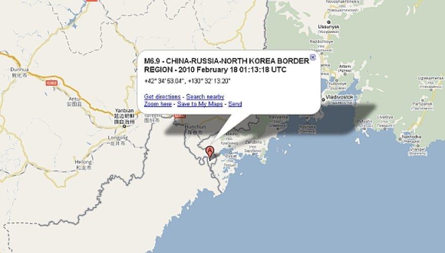 Žemės drebėjimo epicentas užfiksuotas ties trijų valstybių sienų sankirta.