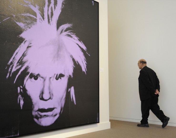 Andy Warholo autoportretas