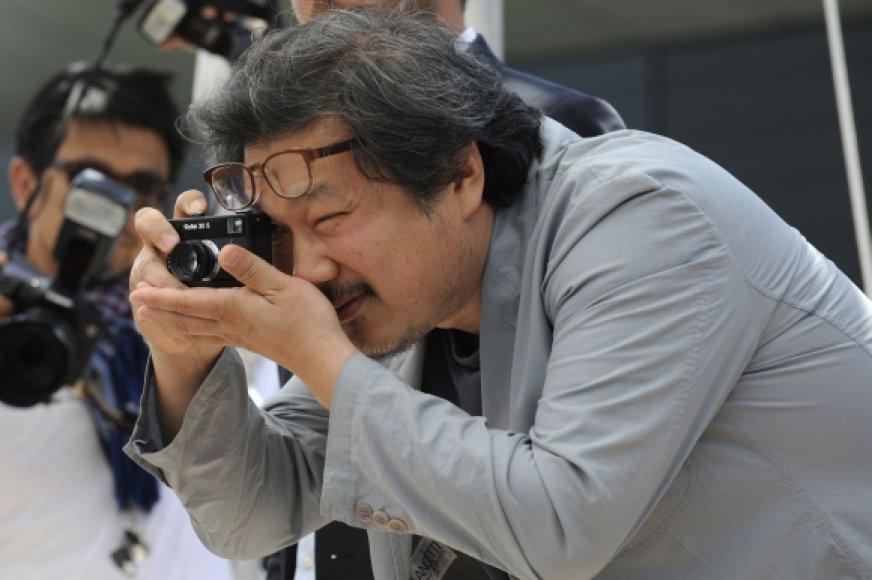 Pietų Korėjos režisierius Hong Sang-soo