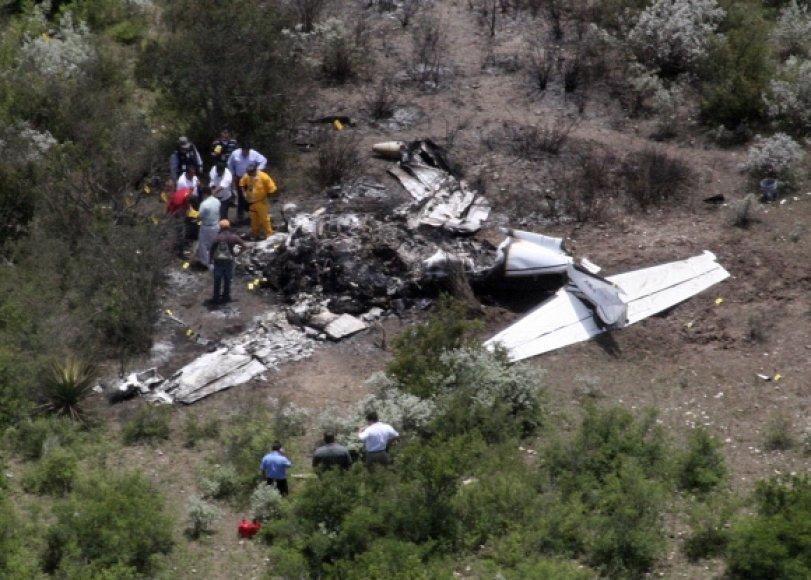 Lėktuvo avarija Meksikoje
