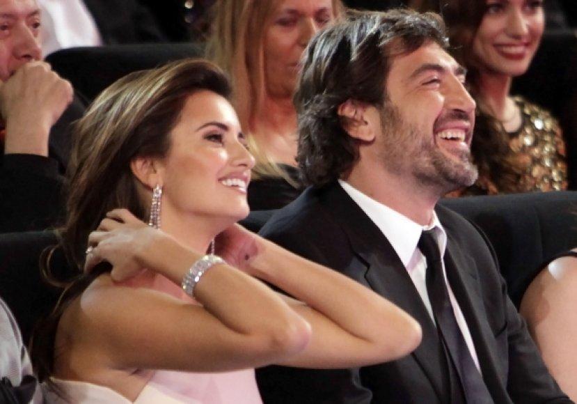 Penelope Cruz ir Javieras Bardemas