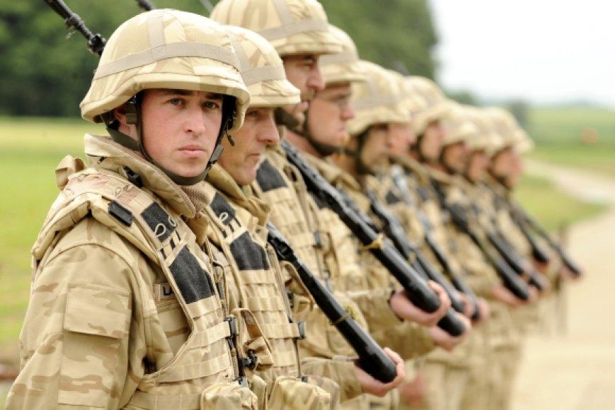 Belgų kariai