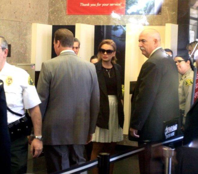 Lindsay Lohan Beverli Hilso teisme