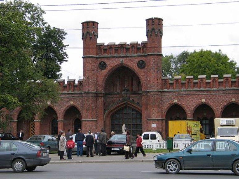 Rosgarterio vartai Kaliningrade