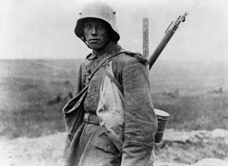 Vokietijos pėstininkas Vakarų fronte (1916 metai)