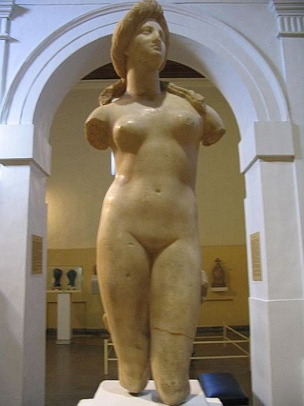 Afroditės skulptūra, Nikosijos muziejaus eksponatas