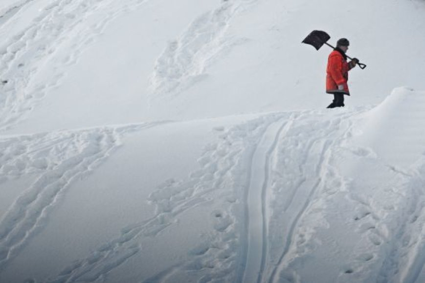 Sniego valytojas