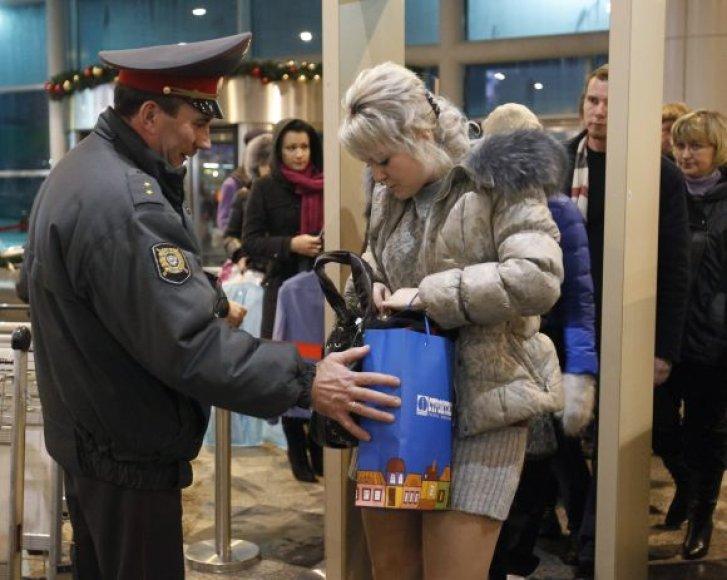 Po sprogimo Domodedovo oro uoste sustiprintos saugumo priemonės.