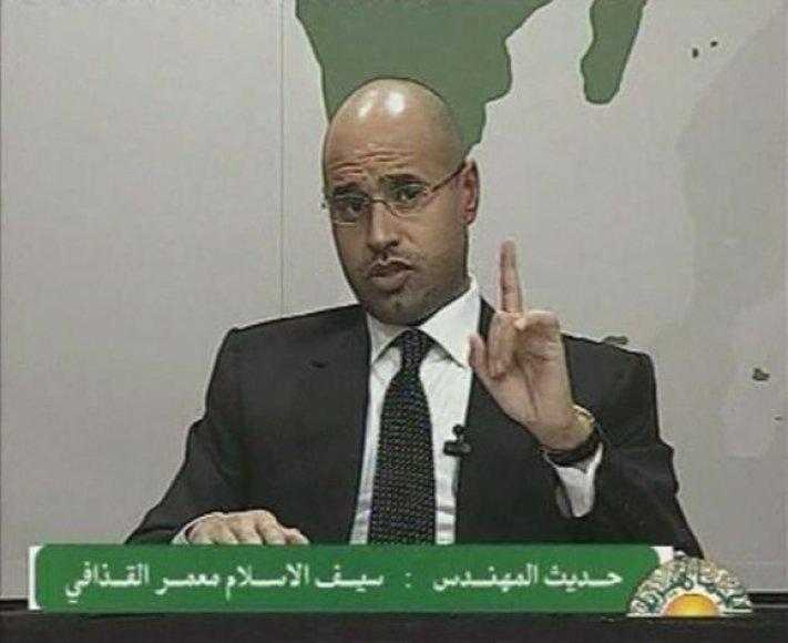 Saifas al Islamas Kadhafi