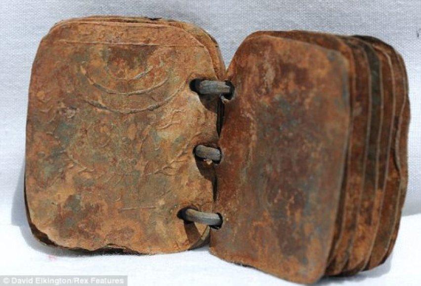 Švininė knyga mena pirmųjų krikščionių laikus.