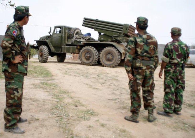Kambodžos kariai