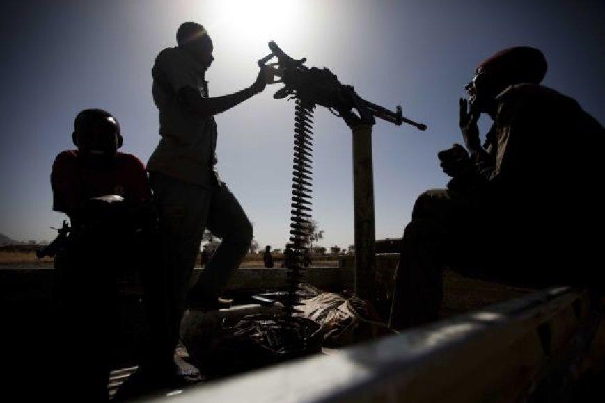 Nuo metų pradžios kovos Pietų Sudane jau nusinešė šimtus gyvybių.