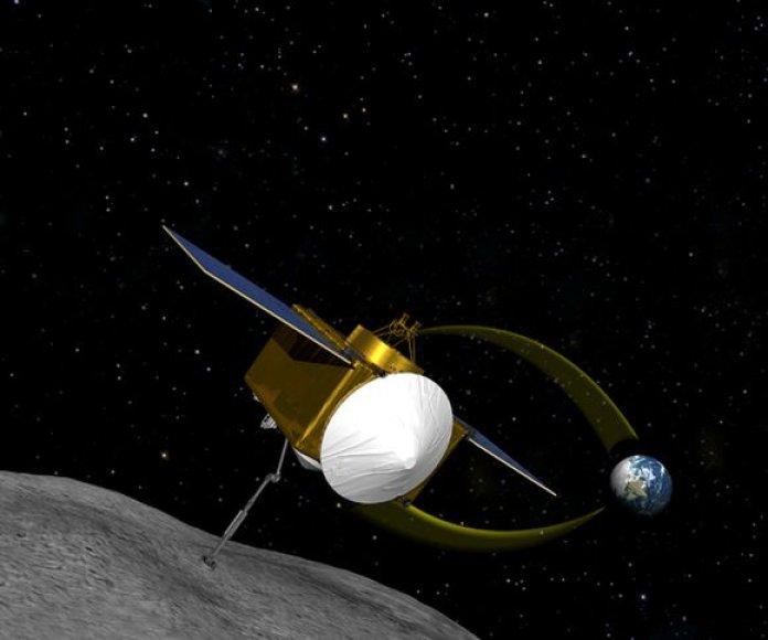 """NASA kosminis zondas """"OSIRIS-REx"""""""
