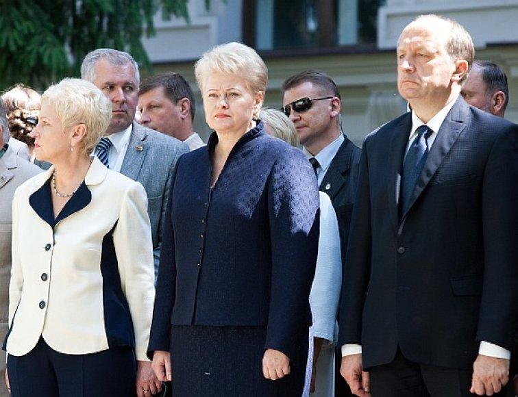 Andriaus Kubiliaus reitingai gerokai žemesni už Dalios Grybauskaitės ir Irenos Degutienės.
