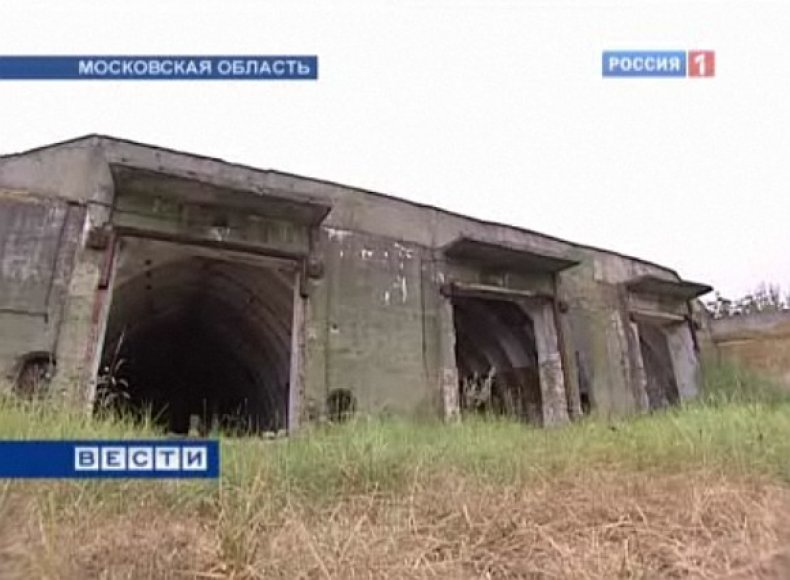 Vienas iš sovietinių Maskvos PRG sistemos objektų – dabar čia liko tik plikos sienos.