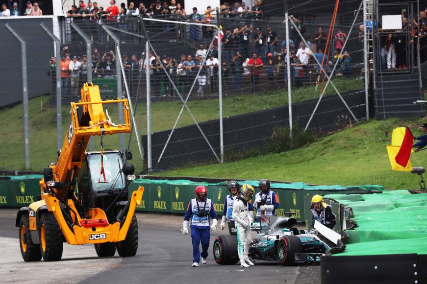 """""""Scanpix""""/""""SIPA"""" nuotr./""""Formulės-1"""" kvalifikacija"""