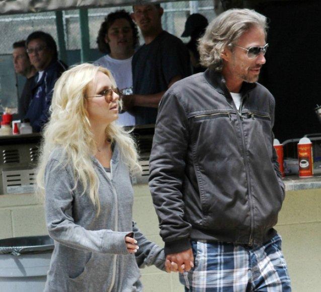 Britney Spears ir Jasonas Trawickas