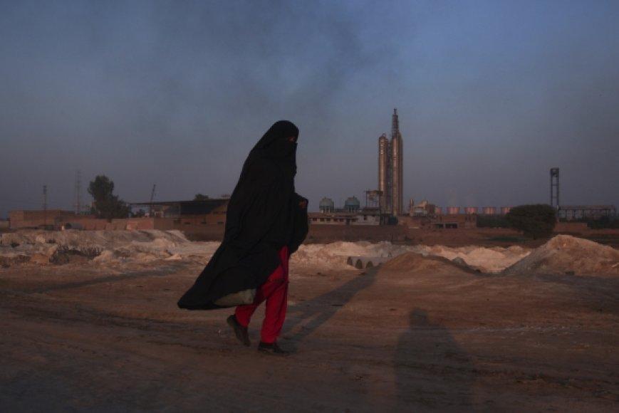 Pakistanietė moteris