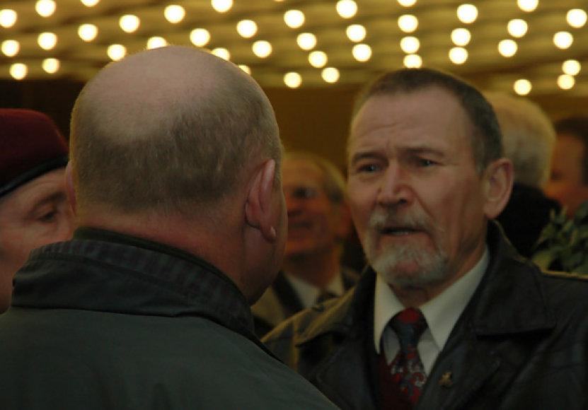 Buvęs parlamentaras, nuteistas už disponavimą ginklais, Algirdas Petrusevičius.