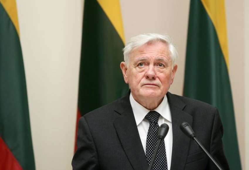 Prezidentas Valdas Adamkus.