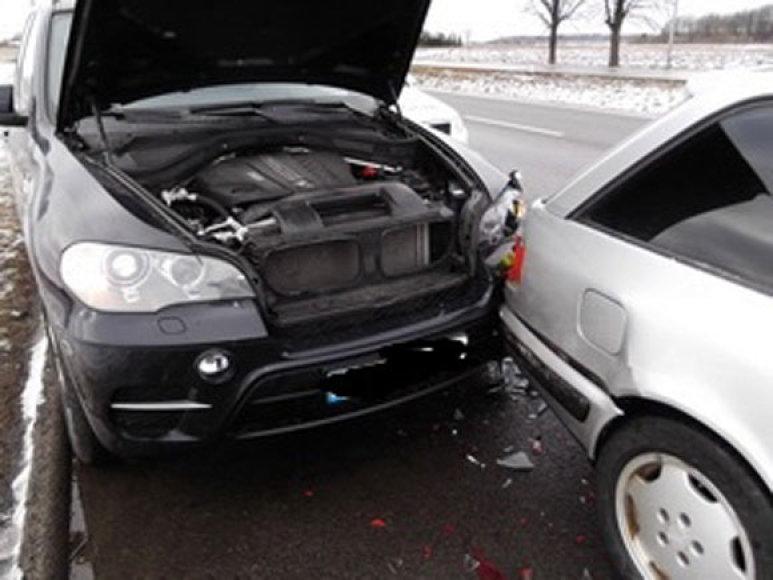 BMW X5 po avarijos